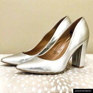 Dolce Vita for Target Silver Pumps